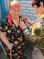 Георгиевская ленточка.