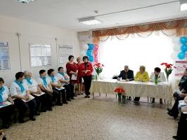 Посвящение в серебряные волонтеры