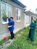 Акция «Чистый дом, чистый двор»